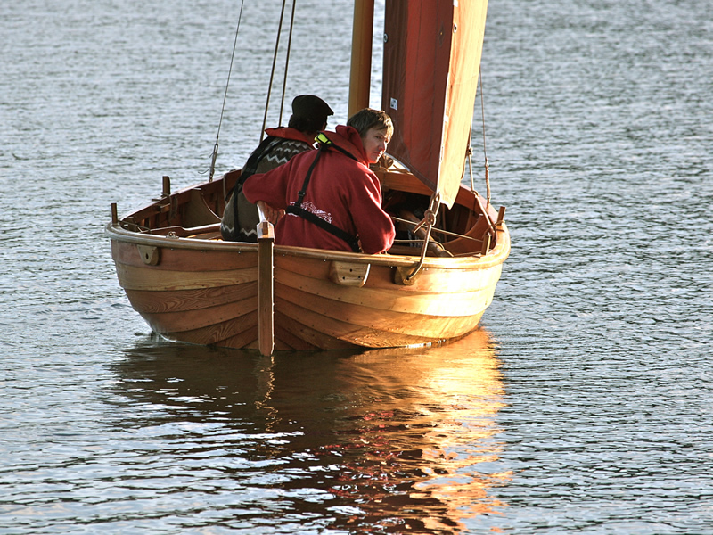 A.R. Way. Oban Skiff 3/4