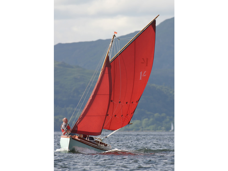 Willow Bay Boats. 'Shilling' 1/2