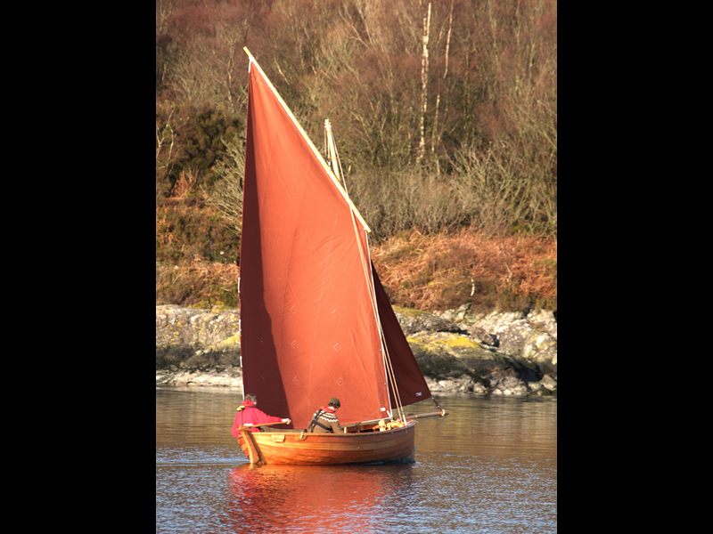 A.R. Way. Oban Skiff 4/4