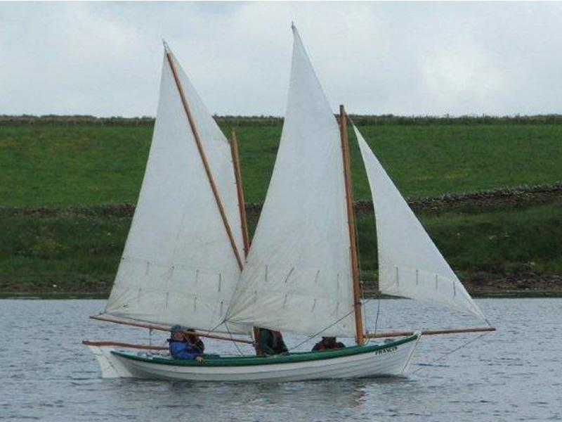 Ian Richardson, Boatbuilder. Yole 'Francis'