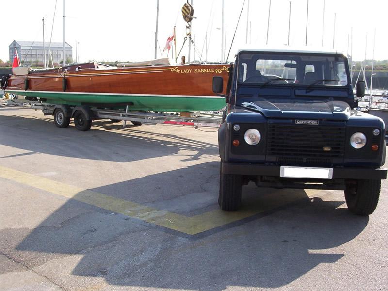 3D Marine Transport. 'Lady Isabella'