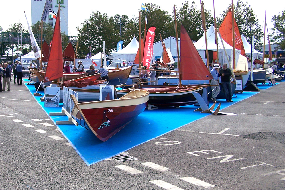 WBTA Trade Stand at the Southampton International Boatshow 2015
