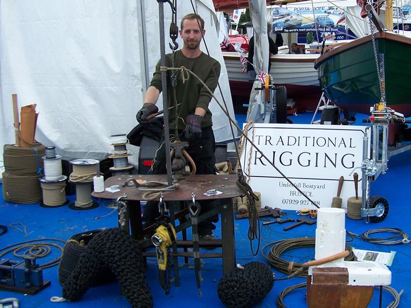 Dennis Platten, Traditional Rigging. Jay, Splicing