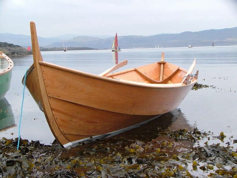 Viking Boats. 'faering' 1/2