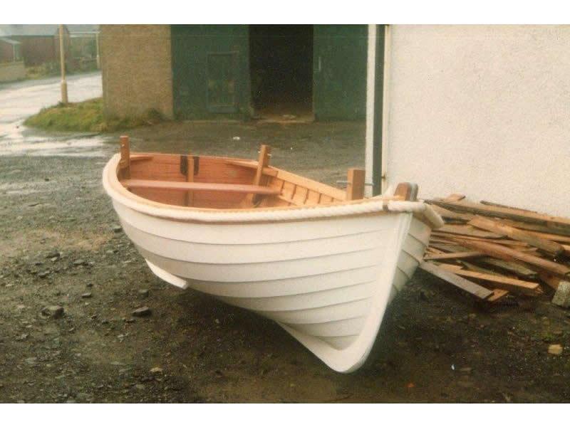 Ian Richardson, Boatbuilder. 12' Tender