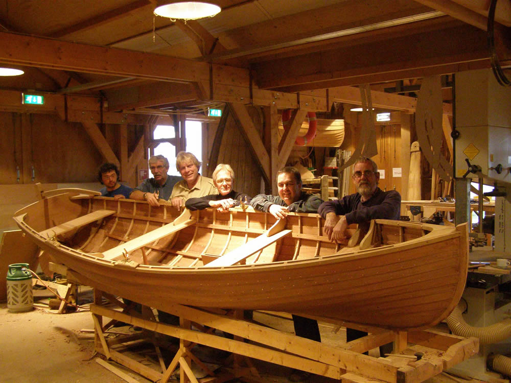 Wooden boat building courses scotland   buat boat